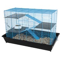 "35"" Mess Resistant Chew Proof Cage"