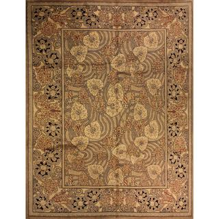 William Morris Pak-Persian Joella Tan/Ivory Wool Rug - 8' x 10'