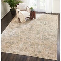 Nourison Lucent Distressed Pearl Area Rug (9'9 X 13'9 )