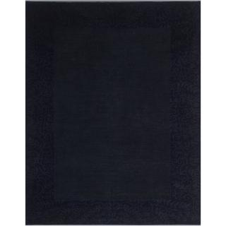Over Dyed Color Reform Arica Blue/Gray Wool Rug (8'7 x 11'3) - 8 ft. 7 in. x 11 ft. 3 in.