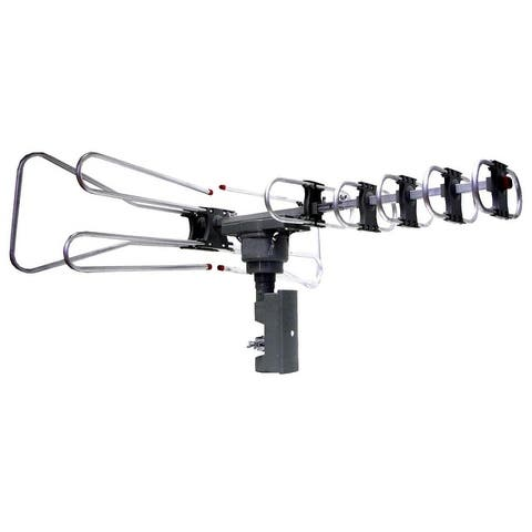 High Powered Amplified Motorized Outdoor Antenna Suitable For HDTV and ATSC Digital Television