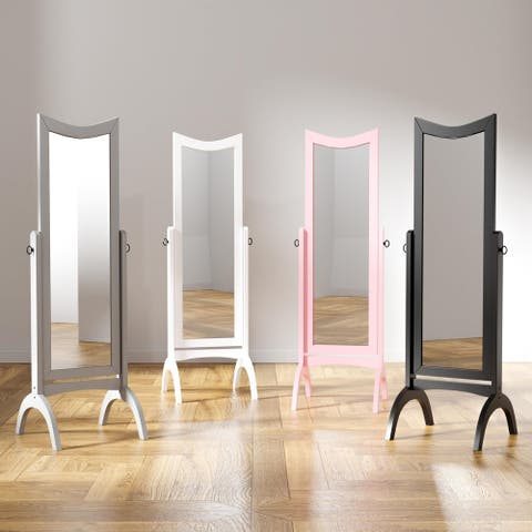 Furniture of America Gace Contemporary 59-inch Standing Mirror