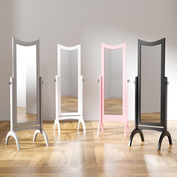 Furniture of America Karina Contemporary Standing Full Length Mirror