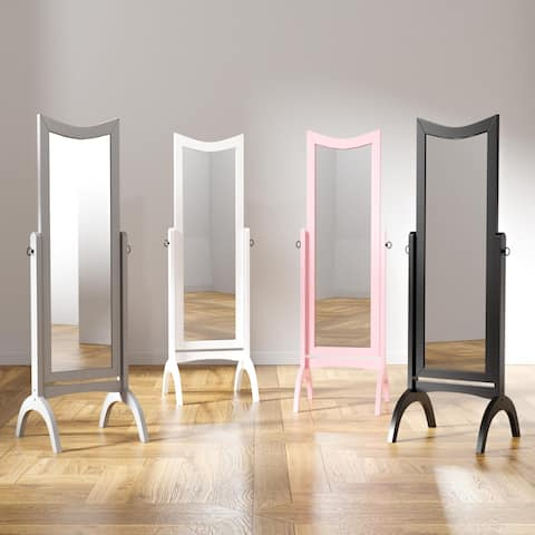 Furniture of America Karina Contemporary Standing Full Length Mirror - A/N