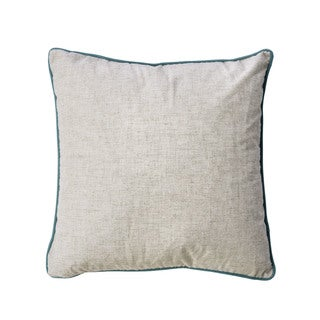 Furniture of America Karde 20-inch Linen Beige Throw Pillow (Set of 2)