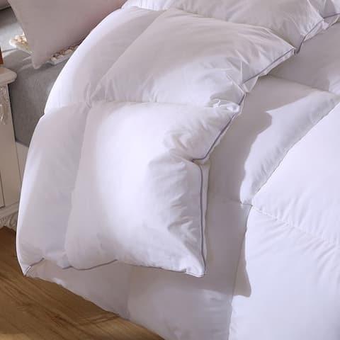 Twin Ducks Inc Padua European White Down Comforter