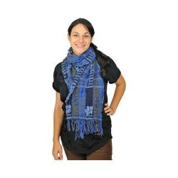 Women's J. Furmani Designer Collection Fun Color Winter Scarf Blue