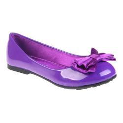 Girls' Jelly Beans Piro Ballerina Flat Purple