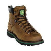 Men's John Deere Boots 6in Lace-to-Toe 6124in Dark Brown