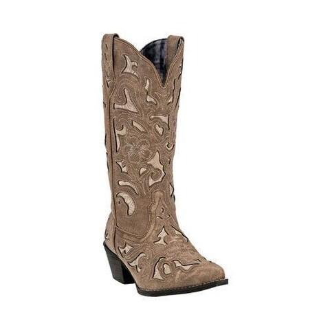 Women's Laredo Sharona Cowgirl Boot 52041 Tan Leather