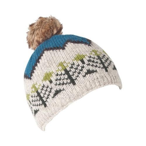 e6cc5e59487c6 Shop Women's Laundromat Montana Knit Pom Pom Beanie River - Free Shipping  On Orders Over $45 - Overstock - 17906004