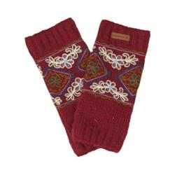 Girls' Laundromat Danika Leg Warmers Ruby