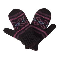 Women's Laundromat Salem Mittens Black