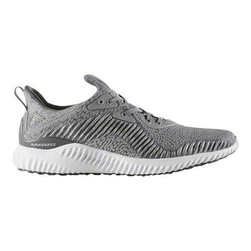 wholesale dealer e5376 dc007 Men  x27 s adidas AlphaBOUNCE HPC AMS 3.0 Running Shoe Medium Grey Heather