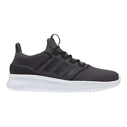 4ed9fd77e601 Shop Men s adidas NEO Cloudfoam Ultimate Running Shoe Core Black Core Black Utility  Black F16 White - Free Shipping Today - Overstock - 17917625