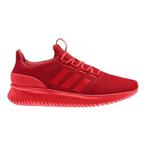 Men's adidas NEO Cloudfoam Ultimate Running Shoe Scarlet/Core Red S17