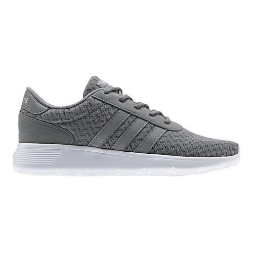 innovative design 95a91 04baa Shop Women s adidas NEO Lite Racer Sneaker Grey Three F17 Grey Three F17 Matte  Silver - Free Shipping Today - Overstock - 17917628