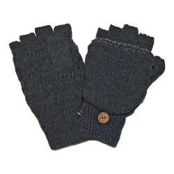 Men's MUK LUKS Fairisle Flip Glove Grey