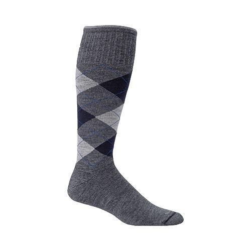 4c73382044 Shop Men's Sockwell Argyle Graduated Compression Sock Charcoal - Free  Shipping On Orders Over $45 - Overstock - 17918240