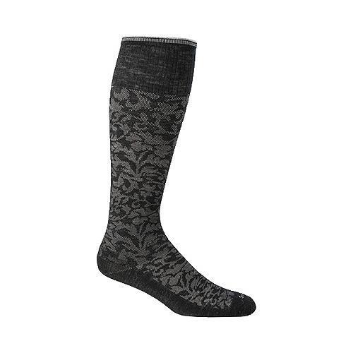 Women's Sockwell Damask Graduated Compression Sock Black