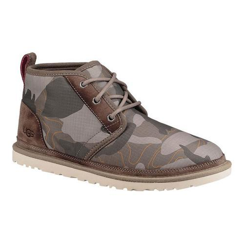 Shop Men S Ugg Neumel Camo Chukka Boot Brindle Ripstop