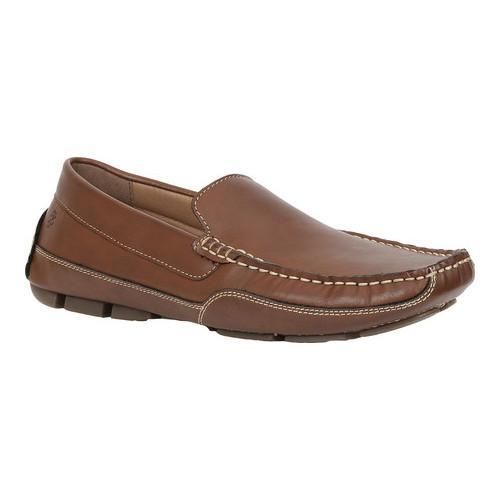Men's IZOD Burney Driving Moc Tan Faux Leather