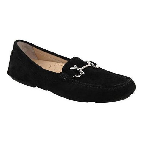 Women's Patricia Green Carrie Loafer Black Suede