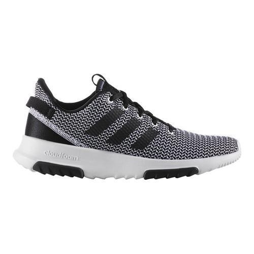 best website 7d11c 23bac Shop Men s adidas NEO Cloudfoam Racer TR Running Shoe FTWR White Core  Black FTWR White - On Sale - Free Shipping Today - Overstock - 17939875