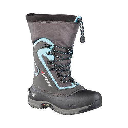 Women's Baffin Flare Snow Boot Charcoal/Teal