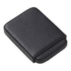 CLAVA 00405 Slide Business Card Holder Brittle Black