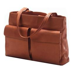 CLAVA 601 Two Pocket Tote Vachetta Tan