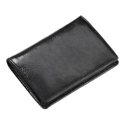 CLAVA 92103 Business Card Holder Glazed Black