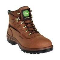 Men's John Deere Boots WCT 5in Waterproof Hiker 3504in Tan