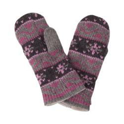 Women's Laundromat Robin Mittens Rose