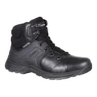 Men's Rocky 6in Alpha Tac Duty Waterproof Boot RKD0040 Black Full Grain Leather