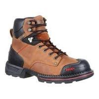 Men's Rocky 6in Maxx Waterproof Work Boot RKK0209 Crazy Horse Leather