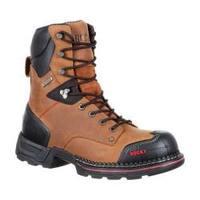 Men's Rocky 8in Maxx Waterproof Work Boot RKK0211 Crazy Horse Leather