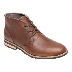 Men's Rockport Ledge Hill Too Chukka Boot Driftwood Leather