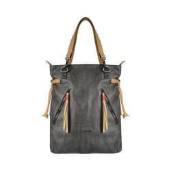 Women's Sherpani Tempest Convertible Canvas Tote Blackstone