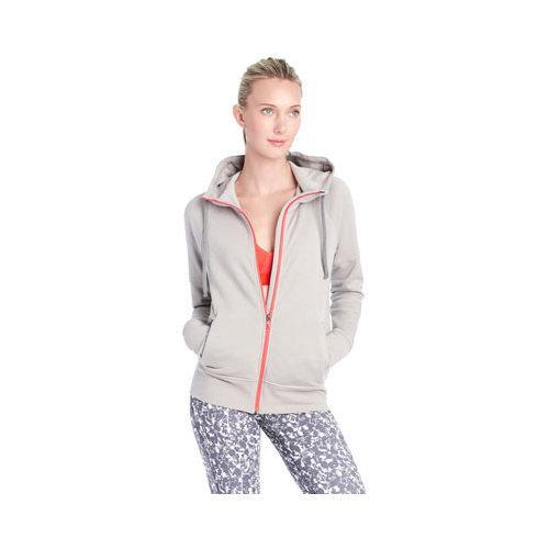 bbb9a0ee243d53 Shop Women s Lole Unite Hooded Cardigan Warm Grey Heather - Free Shipping  Today - Overstock - 17946907