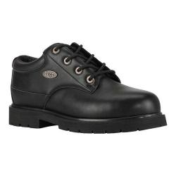 Men's Lugz Drifter Lo Steel Toe Work Boot Black Synthetic