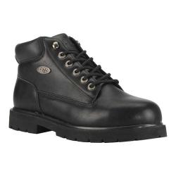 Men's Lugz Drifter Mid Steel Toe Work Boot Black Synthetic