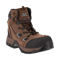 Men's McRae Industrial 6in Composite Toe Lace Up MR83324 Brown Crazy Horse Leather