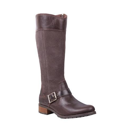 Women's Timberland Earthkeepers Bethel Tall Boot Brown Leather