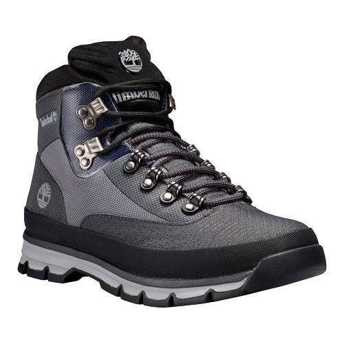 Men's Timberland Euro Hiker Jacquard Hiking Boot Grey Jacquard
