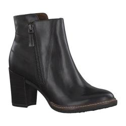 Women's Tamaris Joly Ankle Boot Black Leather