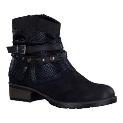 Women's Tamaris Parai Ankle Boot Black/Black Combination