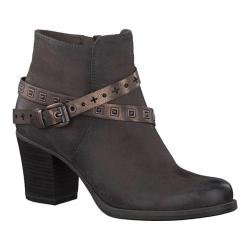 Women's Tamaris Tora Ankle Boot Cigar/Brown Combination