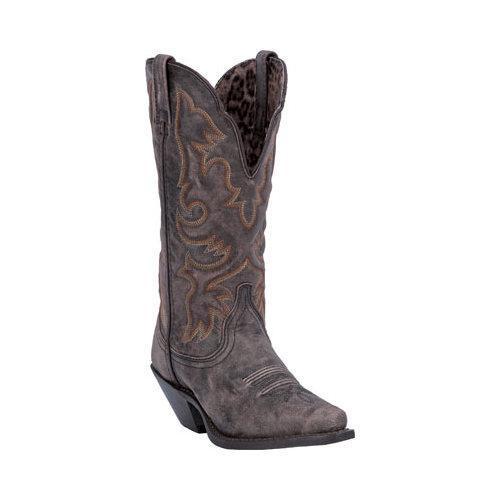 Women's Laredo Access 51079 Black/Tan Goat Leather