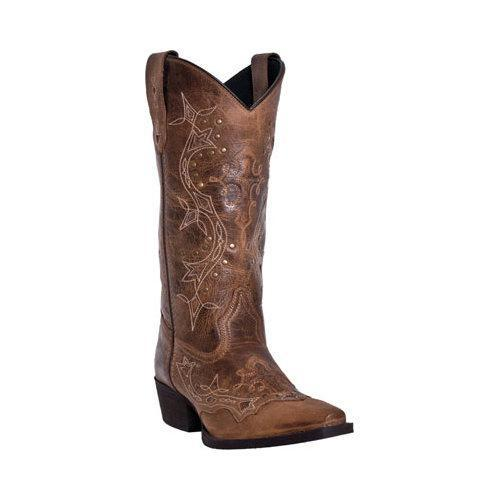 Women's Laredo Cross Point 52033 Burnt Rust Leather